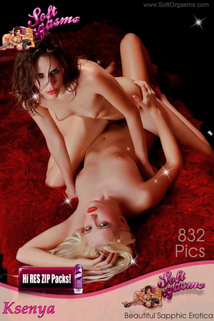 PHOTOSET Ksenya Beautiful Sapphic Erotica